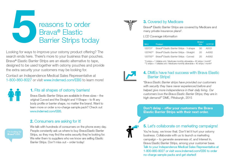 Advertisement – 5 Reasons to Order Bravia Elastic Barrier